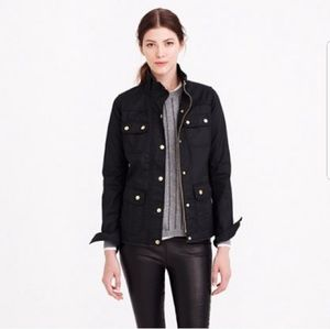 Jcrew downtown field jacket deep navy